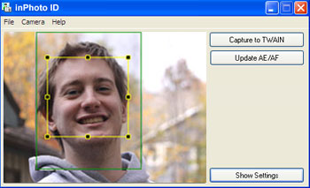 ID photography software, TWAIN driver