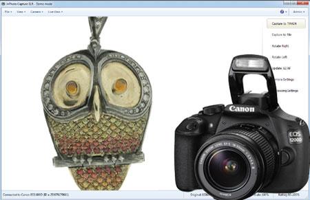 Canon SLR camera control software