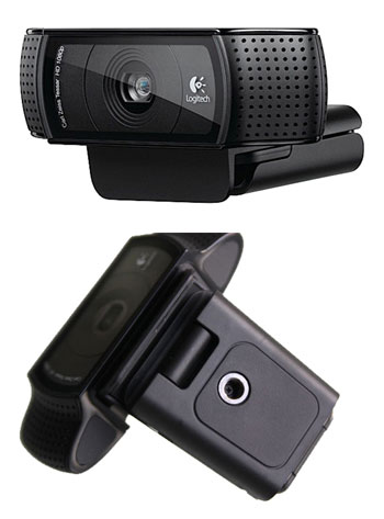 Camera web logitech c910 webcam